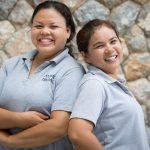 Staff at villa 15, Samsara private estate, Kamala, Phuket, Thailand