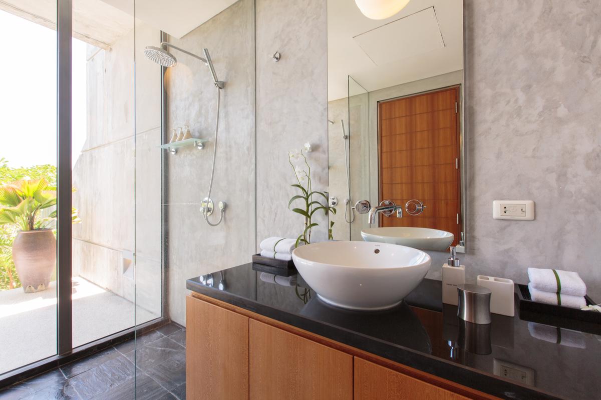 Bathroom 3 at villa 15, Samsara private estate, Kamala, Phuket, Thailand