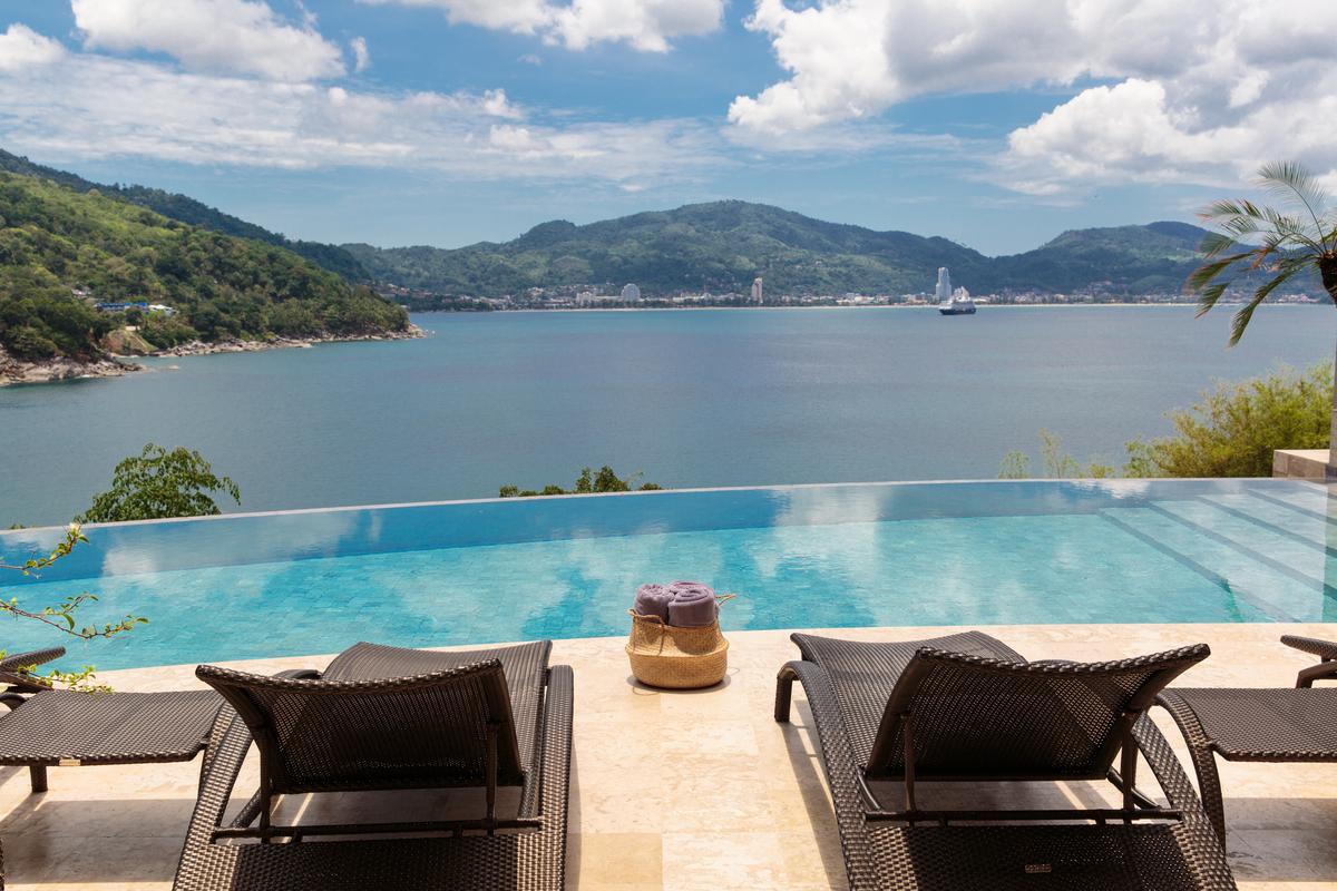 Swimming Pool at villa 8, Samsara private estate, Kamala, Phuket, Thailand