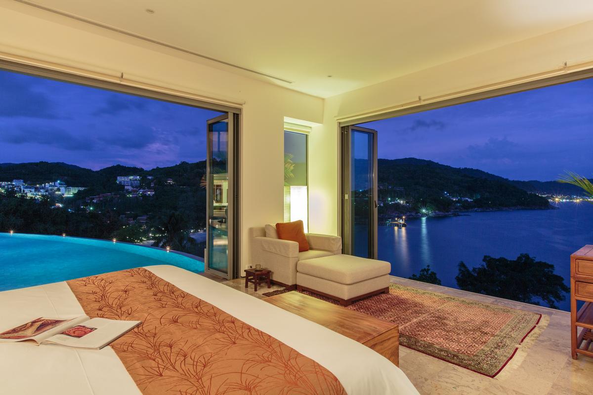 Bedroom 2 at villa 8, Samsara private estate, Kamala, Phuket, Thailand