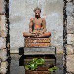Entrance at villa 6, Samsara private estate, Kamala, Phuket, Thailand