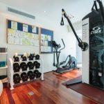 Gym at villa 6, Samsara private estate, Kamala, Phuket, Thailand