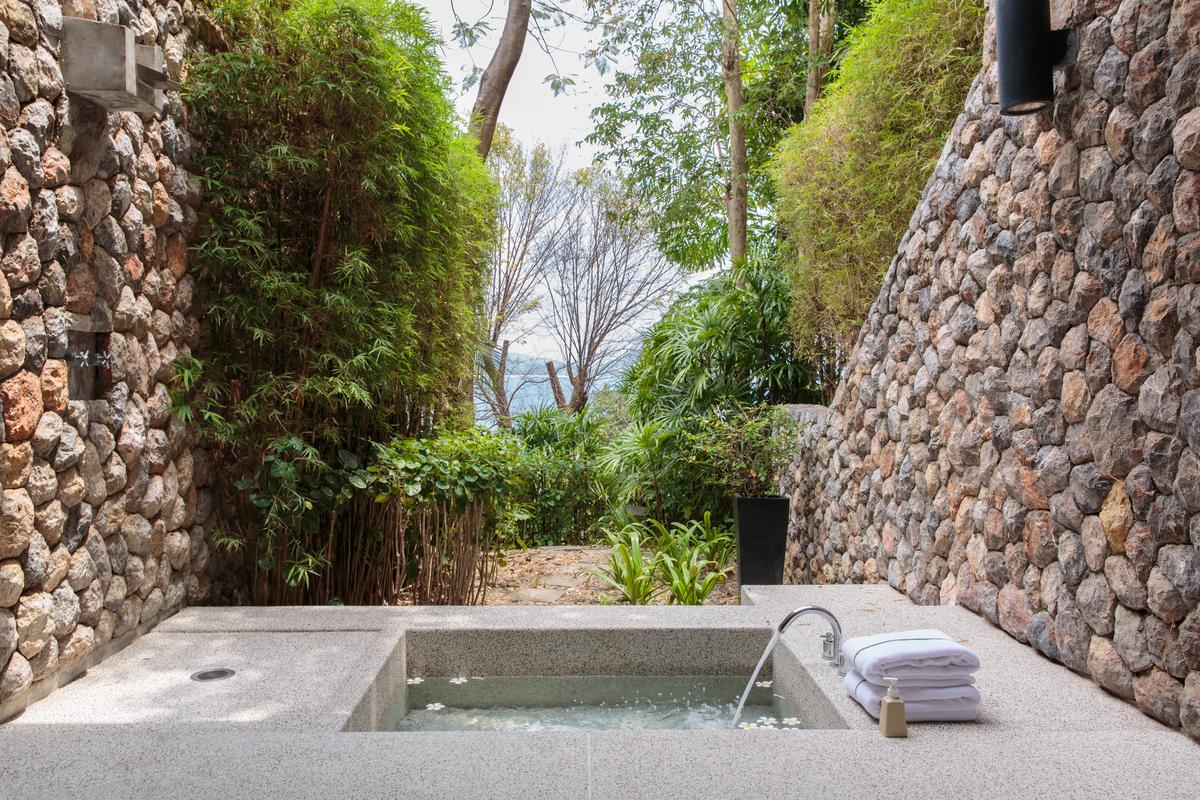 Bathroom 2 at villa 6, Samsara private estate, Kamala, Phuket, Thailand
