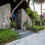 Entrance of villa 9, Samsara private estate, Kamala, Phuket, Thailand