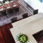 Dining room at villa 9, Samsara private estate, Kamala, Phuket, Thailand