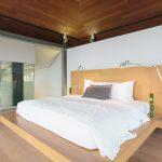 Master bedroom at villa 3, Samsara private estate, Kamala, Phuket, Thailand