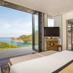 Master bedroom at villa 2, Samsara private estate, Kamala, Phuket, Thailand
